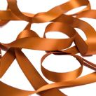 Copper Satin Ribbon